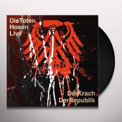 Die Toten Hosen LIVE:DER KRACH DER REPUBLIK Vinyl Record