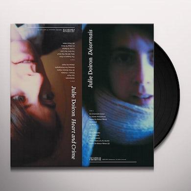 Julie Doiron DESORMAIS / HEART & CRIME Vinyl Record