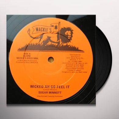 Sugar Minott / Horace Andy WICKED AH GO FEEL IT Vinyl Record