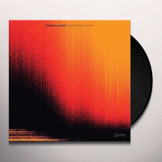 Daniel Avery SONG FOR ALPHA Vinyl Record