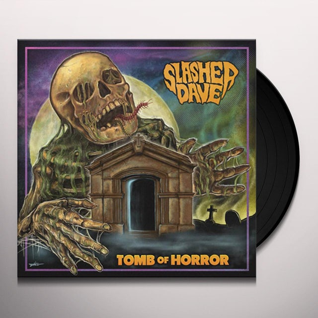 SLASHER DAVE TOMB OF HORROW Vinyl Record