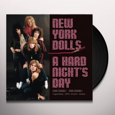 New York Dolls HARD NIGHTS DAY Vinyl Record