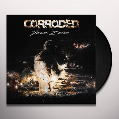 Corroded DEFCON ZERO Vinyl Record