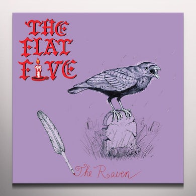 FLAT FIVE THE RAVEN Vinyl Record