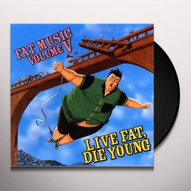 Fat Music 5: Live Fat Die Young / Various Vinyl Record