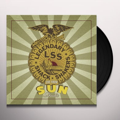 Legendary Shack Shakers LIVE FROM SUN STUDIO Vinyl Record