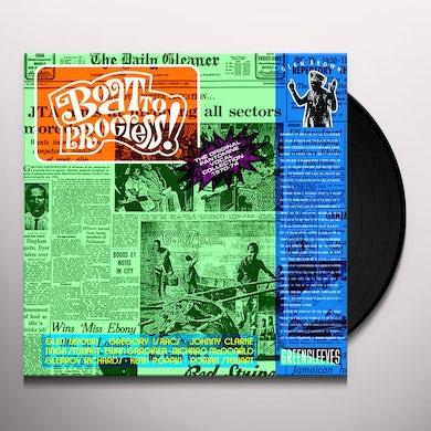 Glen Brown BOAT TO PROGRESS Vinyl Record - UK Release
