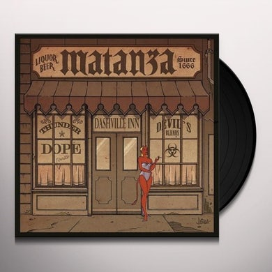 Matanza ASSIM COMECA A BEBEDEIRA Vinyl Record