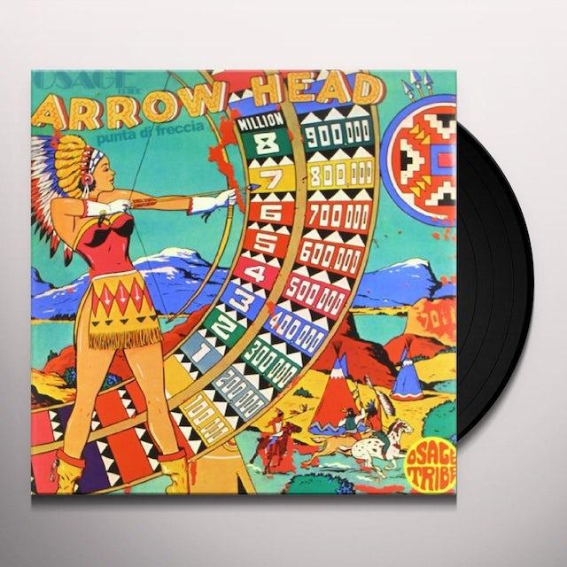 Osage Tribe ARROW HEAD Vinyl Record