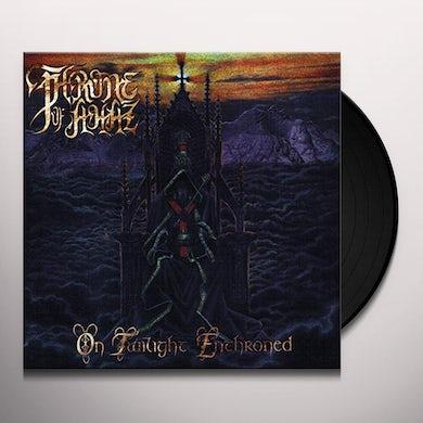 Throne of Ahaz ON TWILIGHT ENTHRONED Vinyl Record