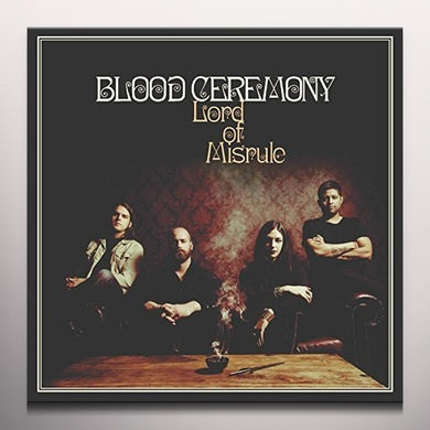 Blood Ceremony LORD OF MISRULE (WHITE VINYL) Vinyl Record