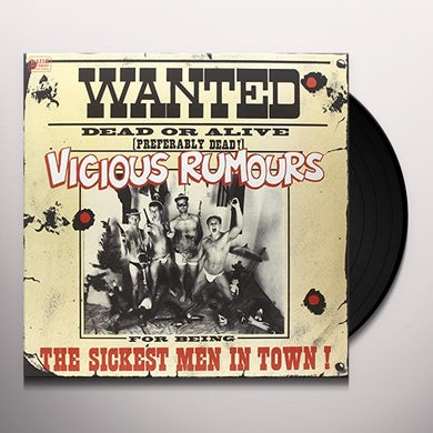 VICIOUS RUMOURS SICKEST MEN IN TOWN Vinyl Record