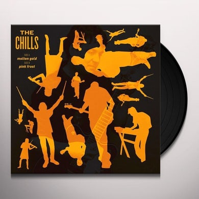 Chills MOLTEN GOLD / PINK FROST Vinyl Record