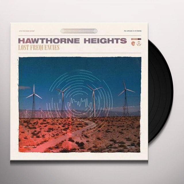 Hawthorne Heights LOST FREQUENCIES Vinyl Record