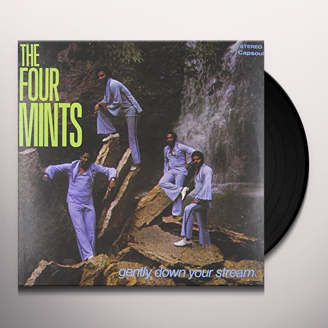 Four Mints GENTLY DOWN YOUR STREAM Vinyl Record