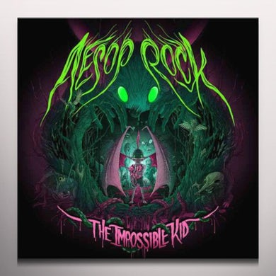Aesop Rock Impossible Kid Vinyl Record