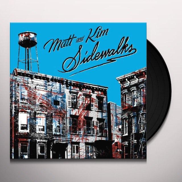Matt & Kim SIDEWALKS Vinyl Record