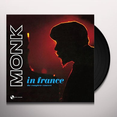 Thelonious Monk IN FRANCE: COMPLETE CONCERT Vinyl Record