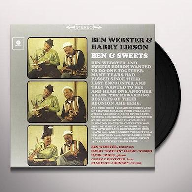 Ben Webster BEN & SWEET (BONUS TRACK) Vinyl Record - 180 Gram Pressing