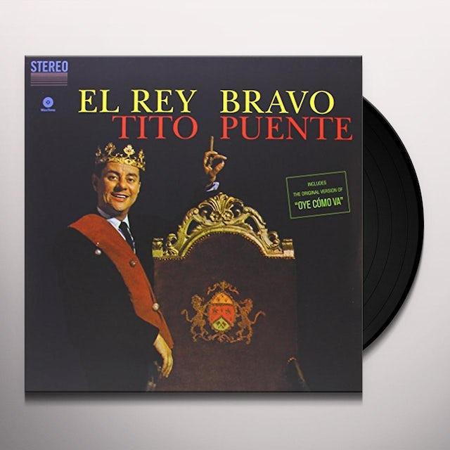 Tito Puente EL REY BRAVO Vinyl Record - Spain Release