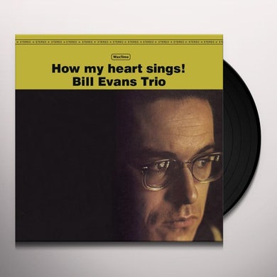 Bill Evans HOW MY HEART SINGS (BONUS TRACK) Vinyl Record - 180 Gram Pressing