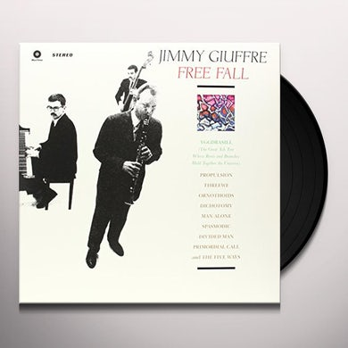Jimmy Giuffre FREE FALL Vinyl Record - Spain Release