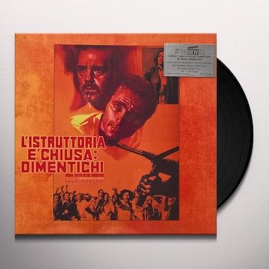 Ennio Morricone L'ISTRUTTORIA E'CHIUSA DIMENTICHI / Original Soundtrack Vinyl Record