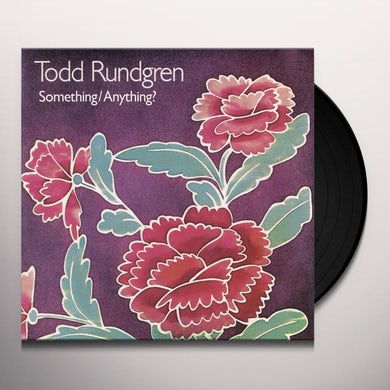 Todd Rundgren SOMETHING ANYTHING Vinyl Record