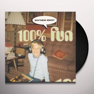 Matthew Sweet 100% FUN Vinyl Record