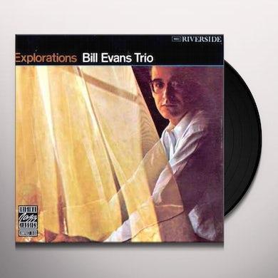 Bill Evans Trio EXPLORATIONS Vinyl Record