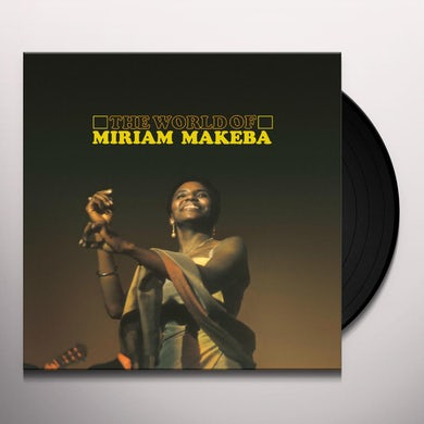WORLD OF MIRIAM MAKEBA Vinyl Record