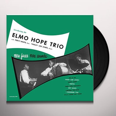 Elmo Hope NEW FACES NEW SOUNDS Vinyl Record