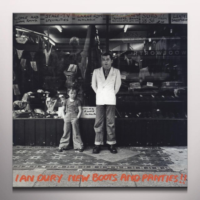 Ian Dury NEW BOOTS & PANTIES Vinyl Record - Colored Vinyl, Limited Edition