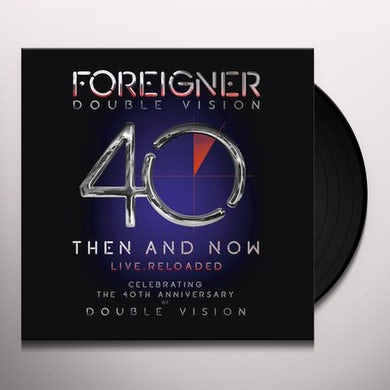 Foreigner Double vision: then and now (2lp + blu-ray) Vinyl Record