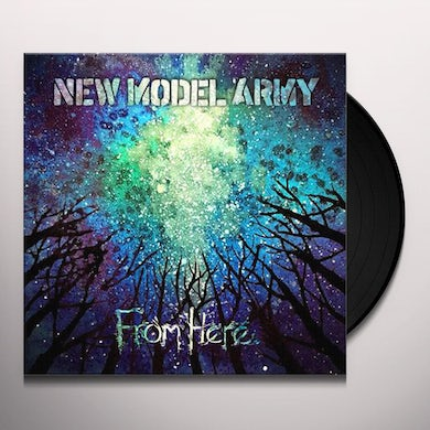 New Model Army From Here Vinyl Record