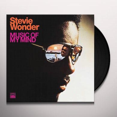 Stevie Wonder  MUSIC OF MY MIND Vinyl Record