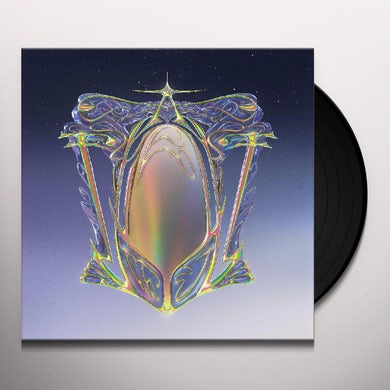 Machinedrum A View Of U (Marbled Silver  White  Blac Vinyl Record