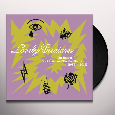 LOVELY CREATURES: BEST OF Nick Cave & The Bad Seeds Vinyl Record