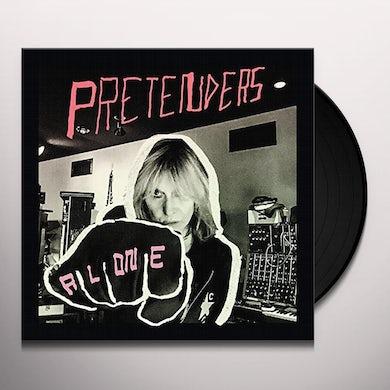 The Pretenders ALONE Vinyl Record