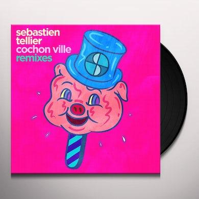 Sebastien Tellier COCHON VILLE Vinyl Record