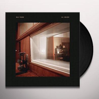 Nils Frahm ALL MELODY Vinyl Record