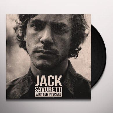Jack Savoretti WRITTEN IN SCARS Vinyl Record