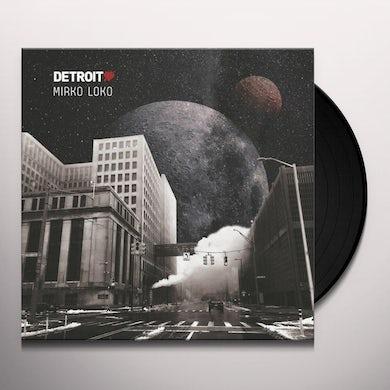 Mirko Loko DETROIT LOVE 4 Vinyl Record