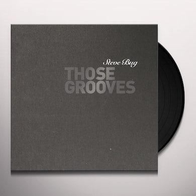 Steve Bug THOSE GROOVES Vinyl Record