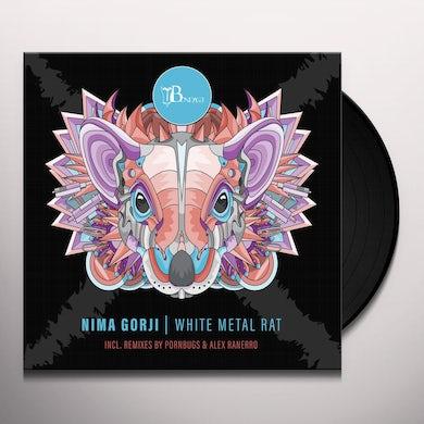 Nima Gorji WHITE METAL RAT Vinyl Record