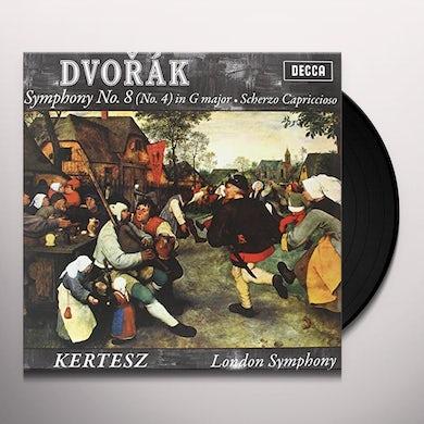 Dvorak / Kertesz SYMPHONY 8 Vinyl Record