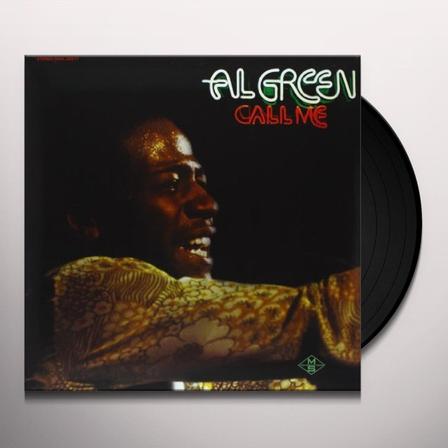 Al Green CALL ME Vinyl Record
