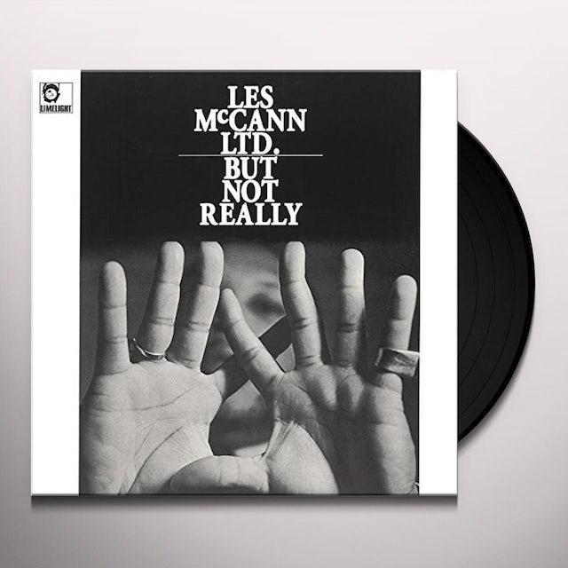 Les Mccann LTD BUT NOT REALLY Vinyl Record