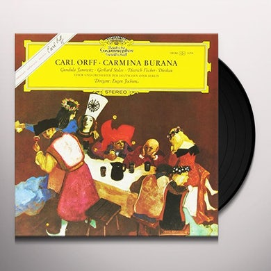 Eugen Jochum ORFF: CARMINA BURANA Vinyl Record