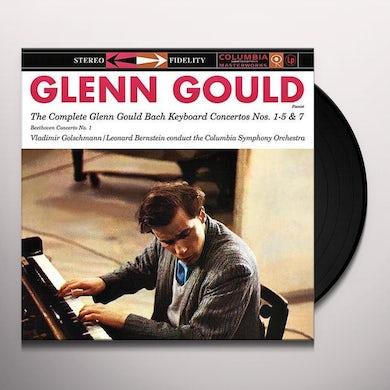 Bach / Beethoven / Gould / Columbia So / Bernstein COMPLETE GLENN GOULD BACH KEYBOARD CONCERTOS NOS. Vinyl Record
